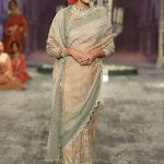 latest-sarees-tarun-tahiliani-designer-cream-subtle-bordered-saree-2016-2017