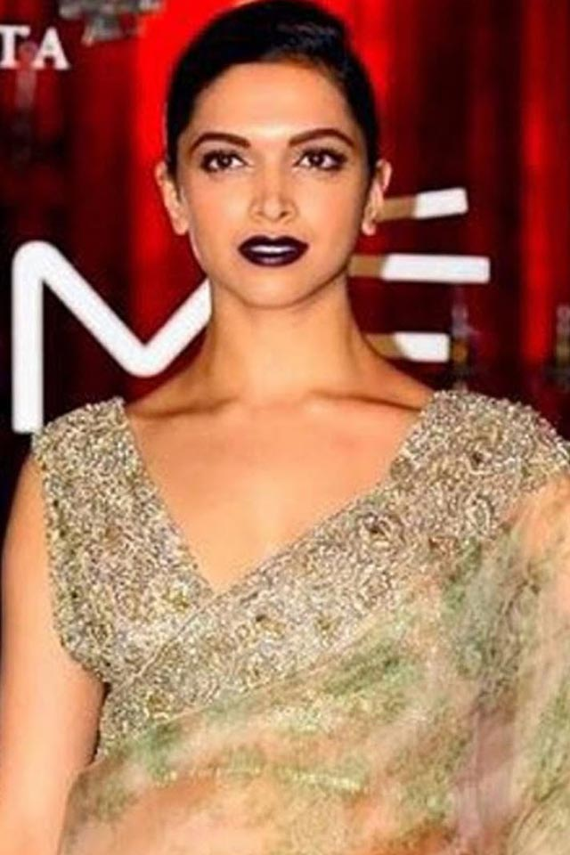 makeup-for-diwali-indian-party-makeup-deepika-padukone-purple-lipstick
