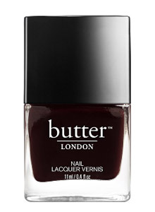 nail-color-ideas-fall-winter-2016-2017-butter-london-dark-chocolate-brown