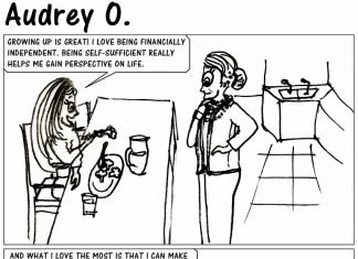 audrey-o-comic-v1e17-cartoon-we-never-grow-up-parents-mom-audreys-mother-broccoli