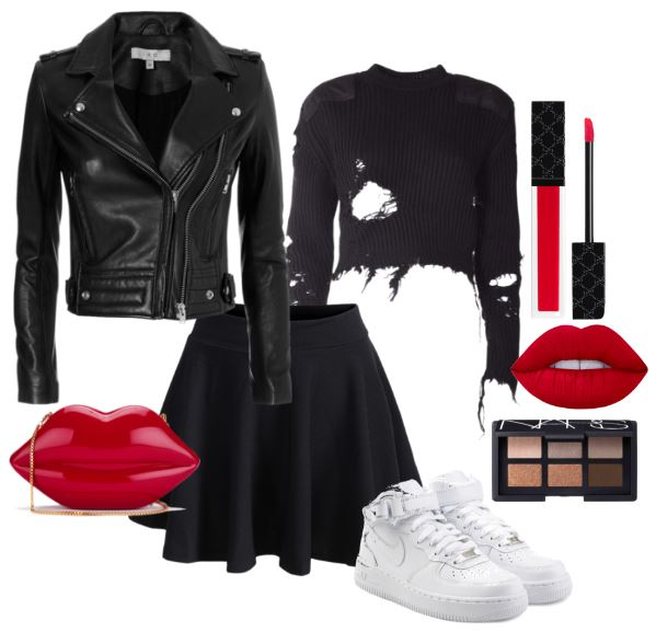 bold-ways-to-wear-white-sneakers-black-outfit-leather-jacket