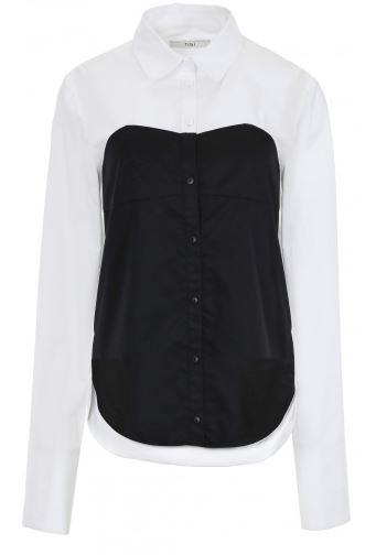 bustier-shirt-black-tibi-2016-different-blouse-styles
