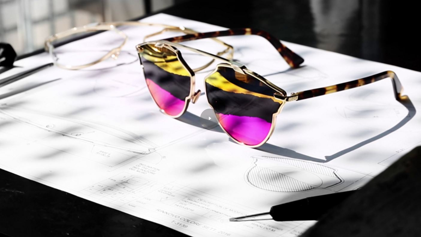 ee9ee54eb14 Dior So Real Sunglasses Get a Cool Tricolor Twist