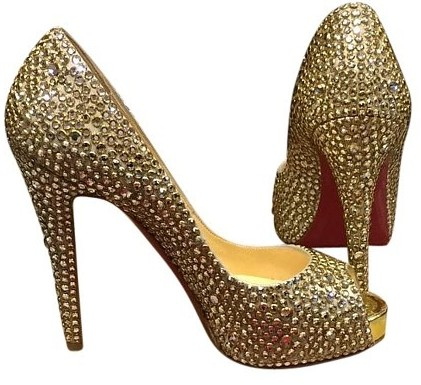 top-designer-wedding-shoes-christian-louboutin-strass-crystal-gold-platforms-winter-2017