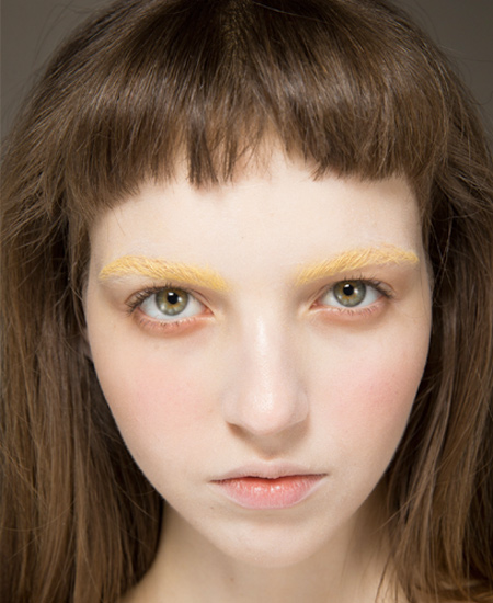 yellow-eyebrows-gucci-eye-makeup-fashion-looks-trends-runway-ss17-collection
