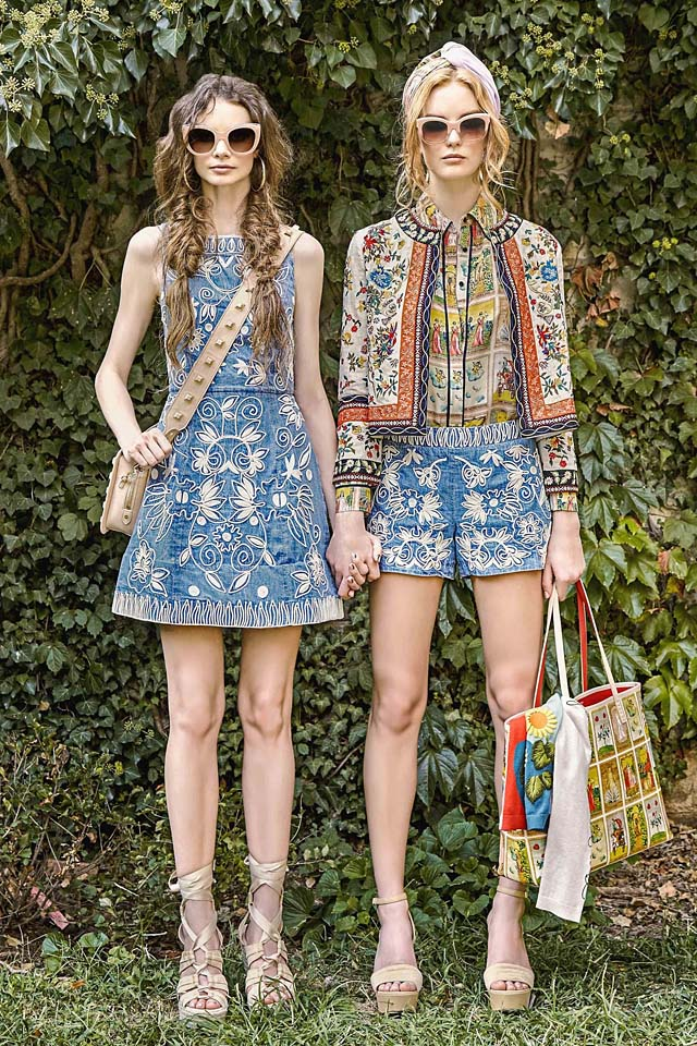 alice-olivia-runway-looks-fashion-show-ss17-spring-summer-2017-denim-embroidery-floral