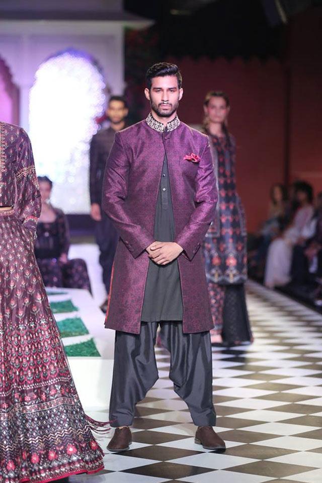 designer-sherwani-for-men-style-trend-anita-dongre-purple-front-open-jacket-spring-summer-2017