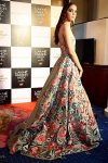 floral-plain-embroidery-panels-manish-malhotra-latest-lehenga-trends-2017