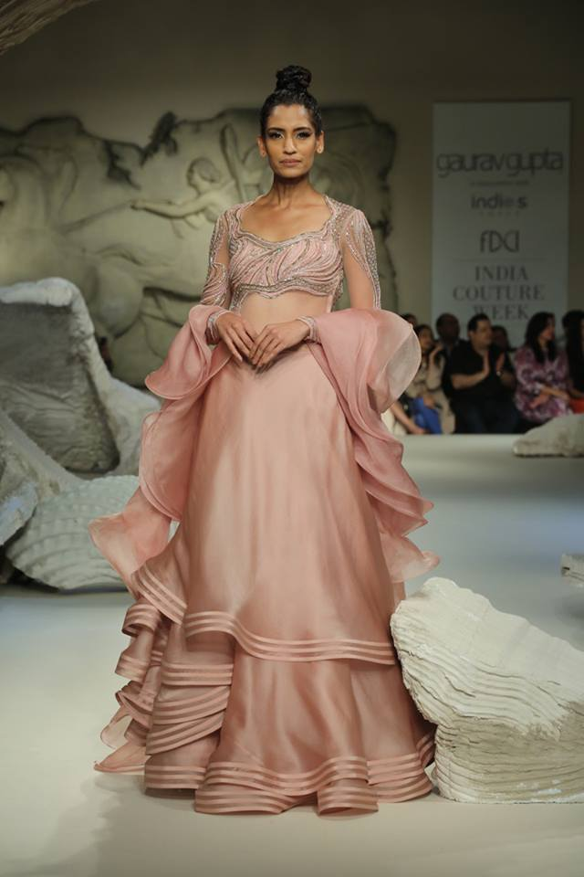 gaurav-gupta-ruffled-lehenga-gown-lilac-peach-latest-lehenga-trends-2017