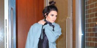 how-to-layer-in-winter-kendall-jenner-pastel-long-coat-celeb-outfit