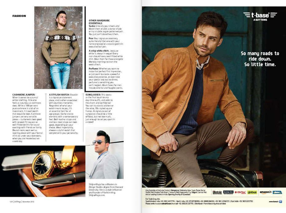 Jetwings Magazine Featured Guest Article On Men S Fashion