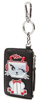 karl-lagerfield-phone-pouch-coin-purse-black-gifting-ideas-for-christmas-women