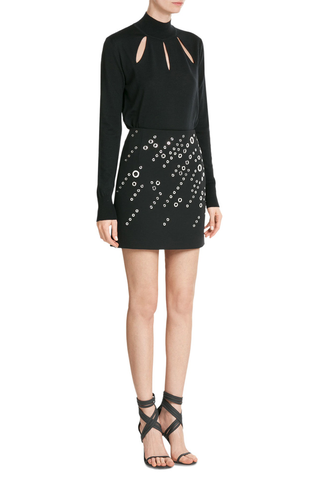 mugler-embellished-skirt-new-years-party-wear-2017-fashion