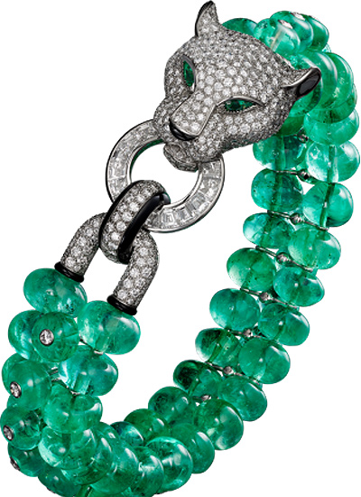 novelty-bracelet-ideas-jewelry-latest-cartier-leopart-inspired-green