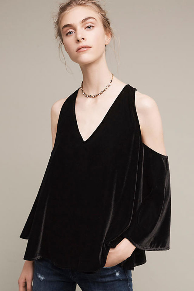velvet-cold-shoulder-black-trend-anthropologie-fall-winter-2016-2017