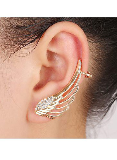 wing-shaped-ear-cuffs-novelty-jewelry-earrings