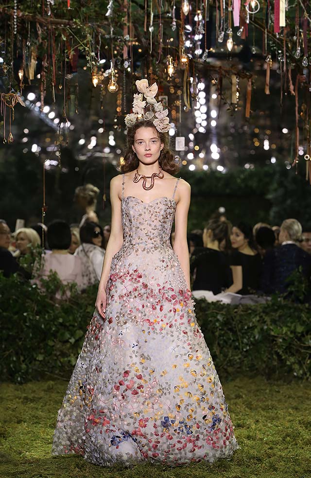 Dior-Haute-Couture-SS17-Look-55-floral-applique-gown-multicolored-statement-jewelry-flora-headbands
