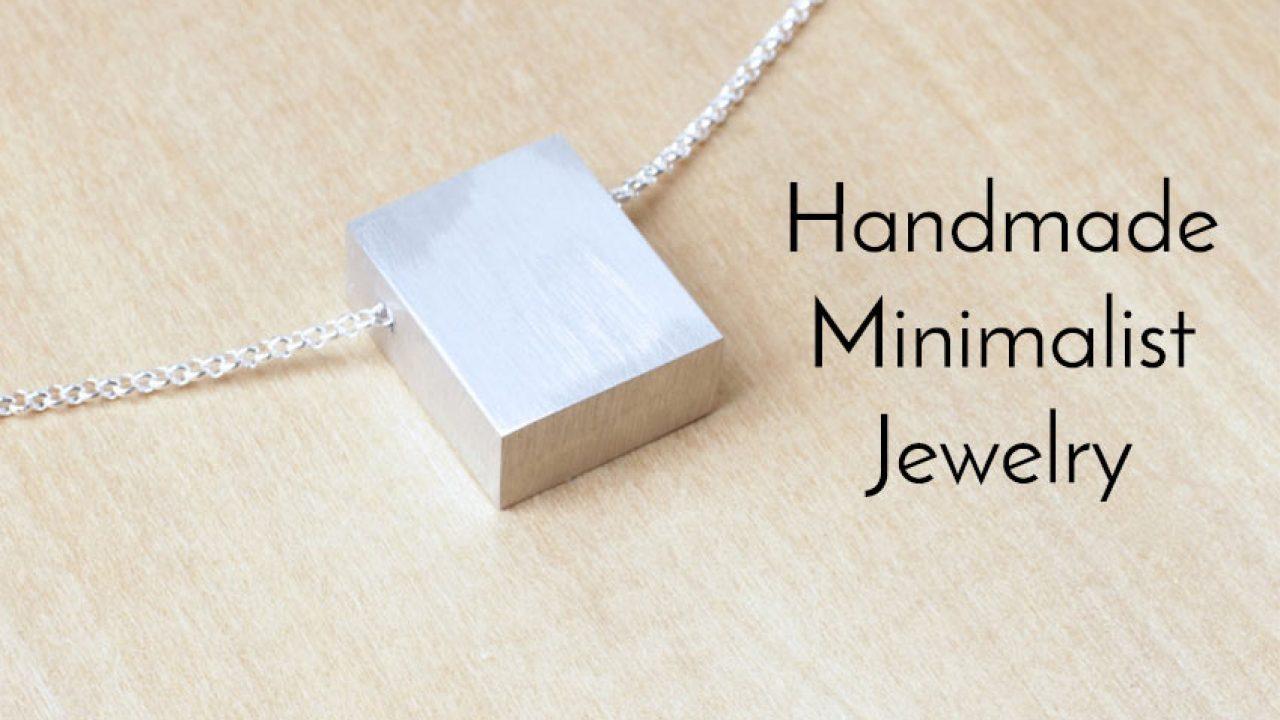 Minimalist Simple Delicate Geometric Jewelry Bracelets Handmade