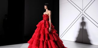 Ralph-&-Russo-SS17-spring-summer-2017-dress-red-layered-strapless-gown