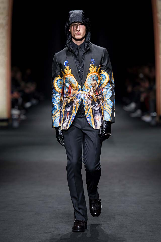 Versace_Men_FW17_ fall-winter-2017 (37)-printed-jacket-painting-menswear