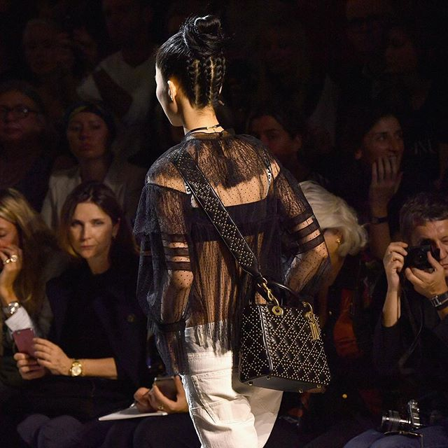 black-studded-bad-dior-ss17-ready-to-wear-collection-fashion-show