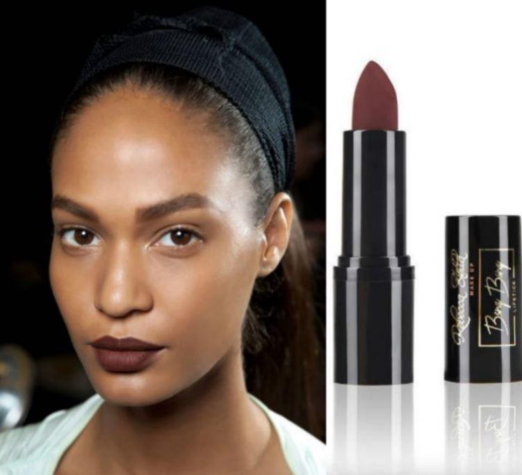 dark lipstick-matte lipsticks-rebecca stella