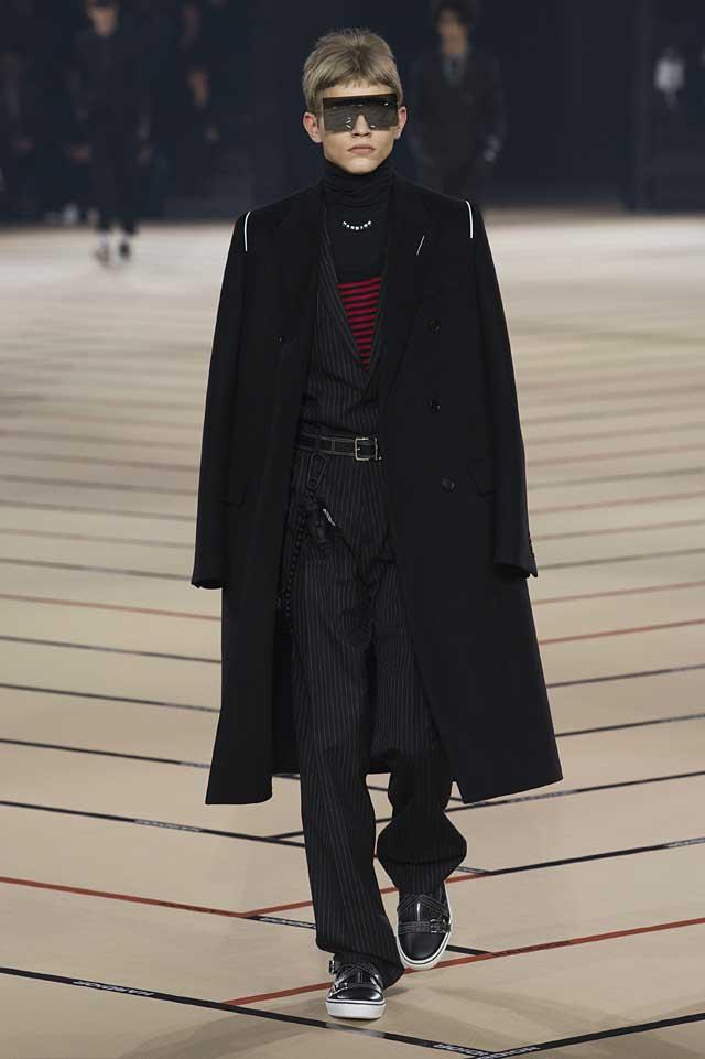 dior_fw17-fall-winter-2017-menswear-mens (4)-stripes-overcoart-outerwear-sunglasses-turtleneck-winterwear