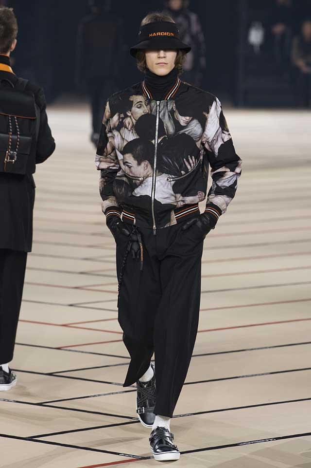 dior_fw17-fall-winter-2017-menswear-mens (45)-human-face-prints-jacket-hat-gloves