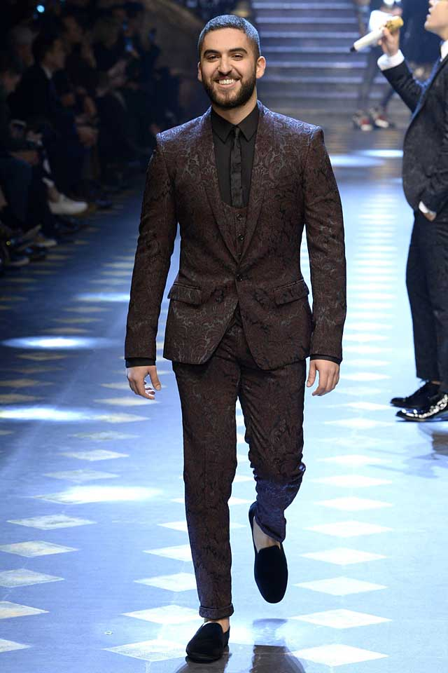 Cool Style Ideas For Men Dolce Gabbana Menswear Fall 2017