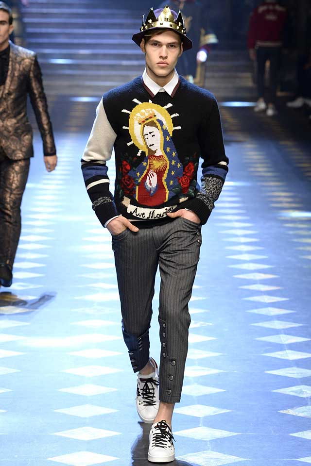 Cool Style Ideas for Men   Dolce   Gabbana Menswear Fall 2017 b4318326550