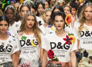 dolce-gabbana-logo-detail-fashion-runway-spring-trend-luxury-clothing-logos
