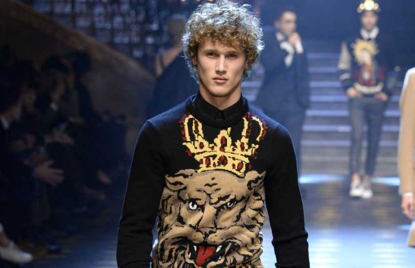 3ecb6b18187d Cool Style Ideas for Men   Dolce   Gabbana Menswear Fall 2017