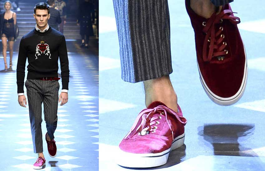Cool Style Ideas For Men  Dolce U0026 Gabbana Menswear Fall 2017