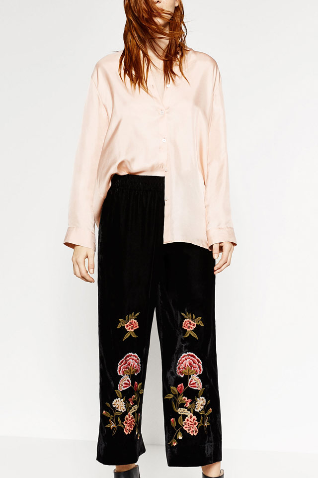 embroidered-velvet-culotte-fashion-shopping-idea-for-winter-2017