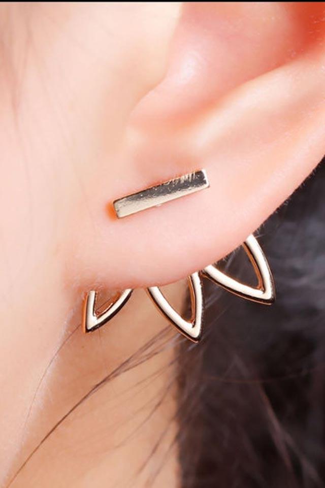 lotus-bar-earring-etsy-gold-minimalist-handmade-jewelry