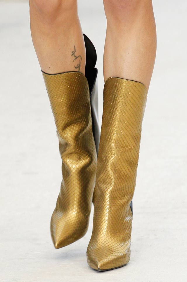louis-vuitton-gold-metallic-shoes-latest-shoe-trends-spring-summer-2017-boots