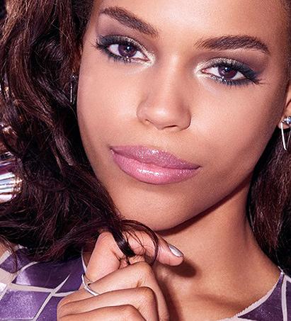 mac-light-engagement-makeup-looks-dark-skin-tone-bold-eye-shadows-dark-lips