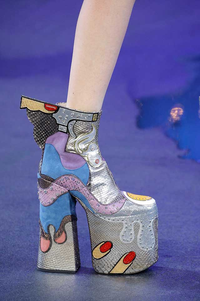 marc-jacobs-latest-spring-summer-shoe-trends-fashion-printed-patchwork-silver-statement-booties