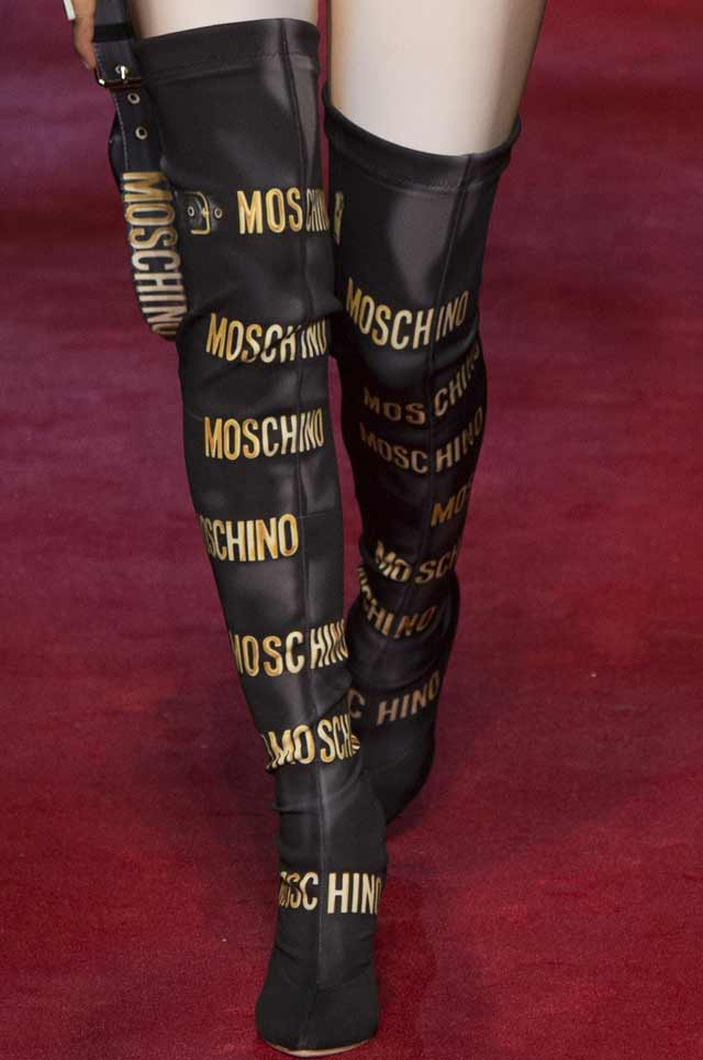 moschino-fashion-luxury-brand-logo-shoes-2017-boots-ss17-trends