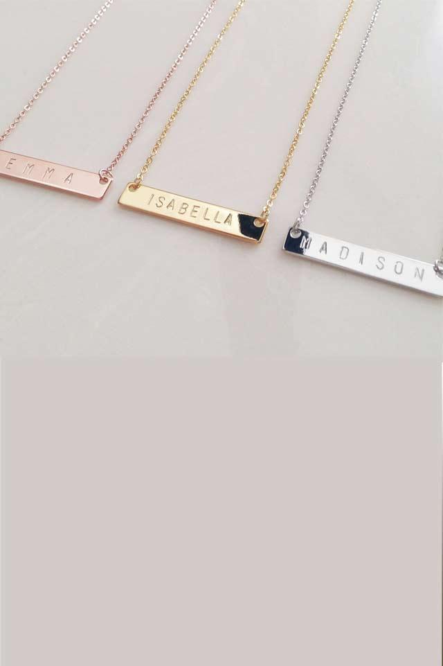 personalised-necklace-handmade-minimalist-jewelry-name-plate-bar