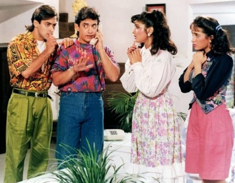 Best And Worst 90s Bollywood Fashion 90s Trends And Diasasters
