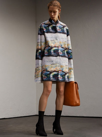 Burberry-fw-fall-winter-2017-18-collection-18-printed-dress
