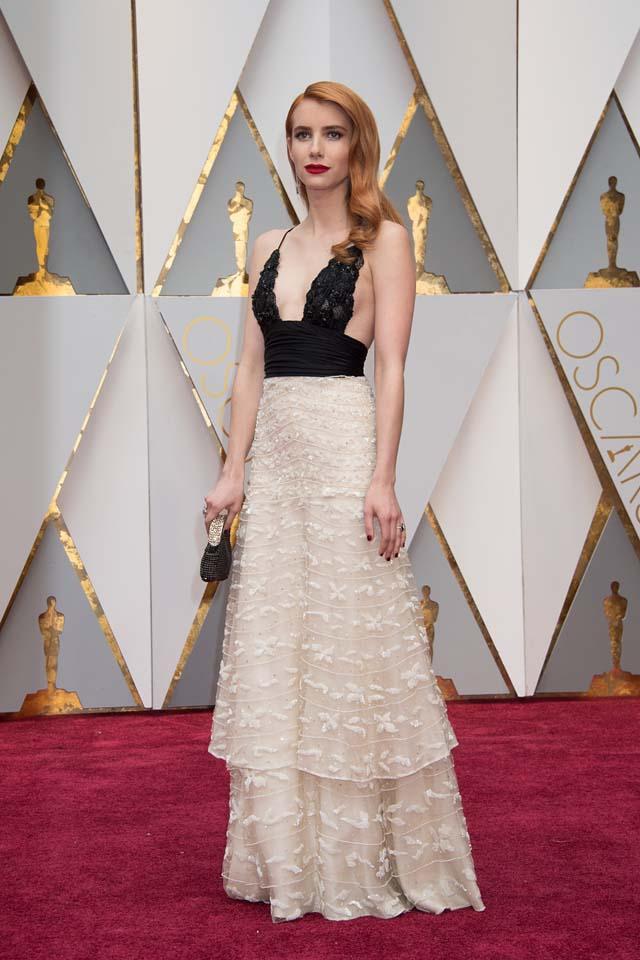 Oscars 2017 Red Carpet Dresses Best Dressed Celebrities