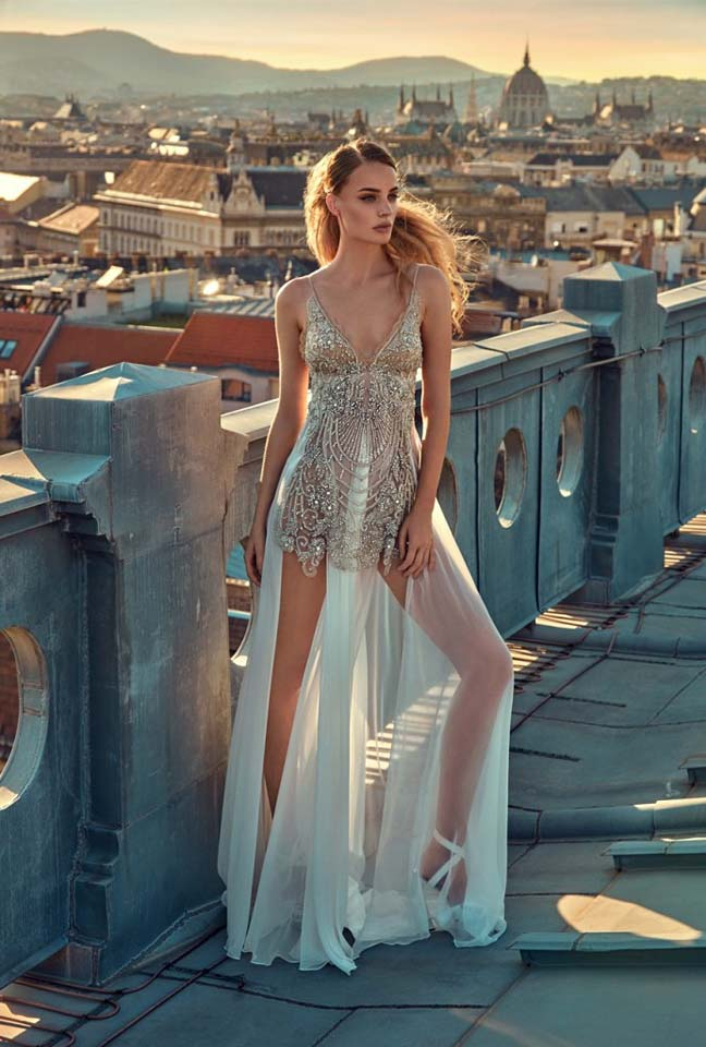GaliaLahav-bridal-collection-spring-summer-2017-wedding-gowns-designer-beautiful (5)-sheer-neckline-short