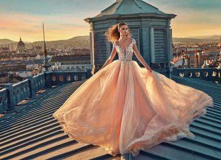 GaliaLahav-bridal-collection-spring-summer-2017-wedding-gowns-designer-beautiful (7)-peach-poofy