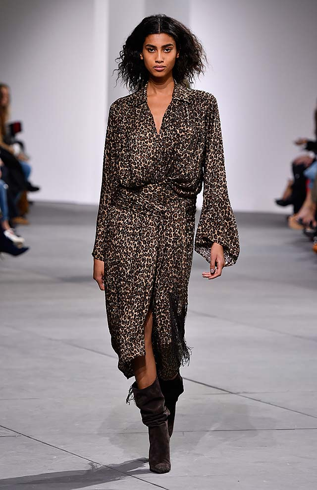 Michael-kors-fall-winter-2017-collection-fw17-29-wrap-dress-printed-full-sleeved