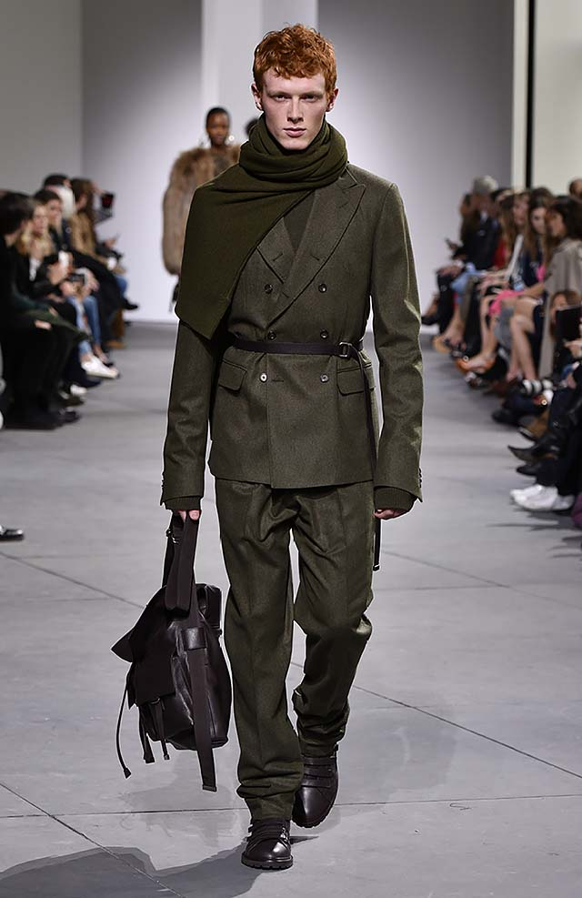Michael-kors-fall-winter-2017-collection-fw17-31-green-matching-suit-mens-dresses
