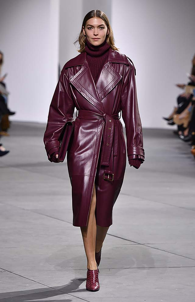 Michael-kors-fall-winter-2017-collection-fw17-46-purple-leather-coat-matching-belt