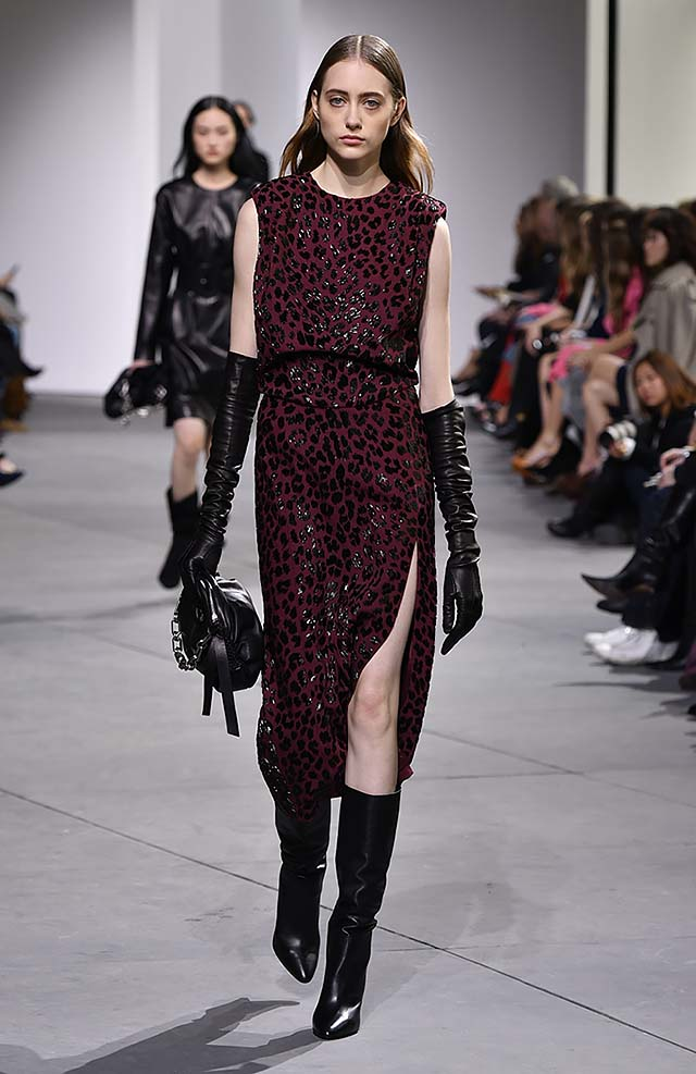 Michael-kors-fall-winter-2017-collection-fw17-47-side-slit-printed-dress
