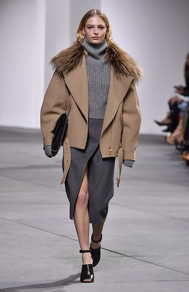 Michael-kors-fall-winter-2017-collection-fw17-9-slit-dress-grey-fur-coat-strappy-heels